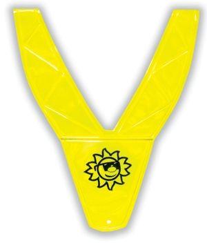 vesta reflexní dětská PVC tvar V