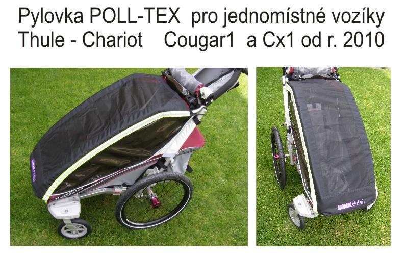 CTS - pyl.síť POLL-TEX CX1 (Cougar1)od 2010 černá