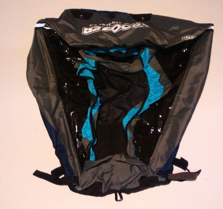 CROOZER - potah Kid 1, 2010 modrá/černá